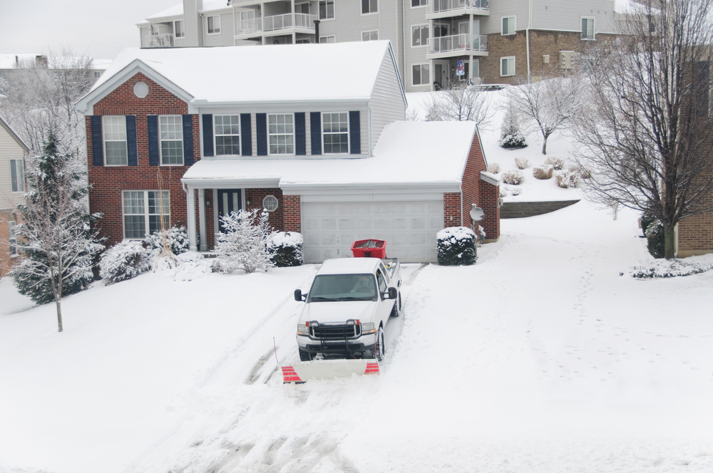 Residential Snow Removal in Maple Grove MN